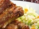 Рецепта Печени свински гърди на фурна с картофи